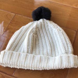 Kate Spade Pom Pom hat